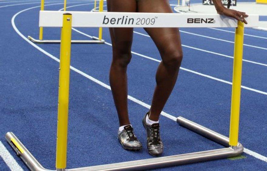 Antras dopingo atvejis užfiksuotas moterų 400 m barjeriniame bėgime