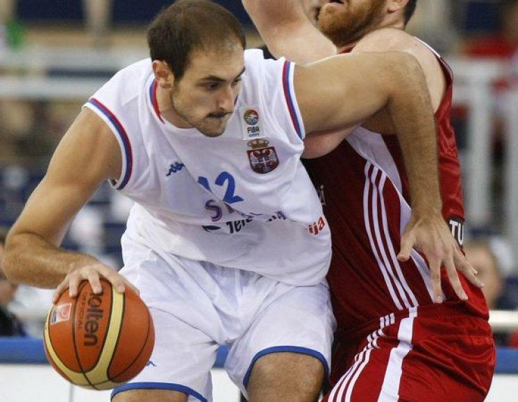 N.Krstičius tikisi, kad serbams pavyks iškovoti kelialapį į pasaulio čempionatą