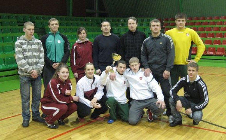 Komandiniame čempionate triumfavo joniškiečiai.
