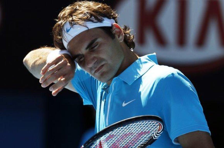 R.Federeriui teko gerokai paprakaituoti