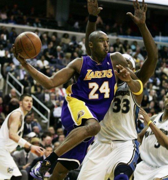 """""""Lakers"""" lyderis pelnė 26 taškus"""