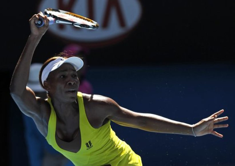 V.Williams ketvirtfinalyje susitiks su Kinijos tenisininke Li Na