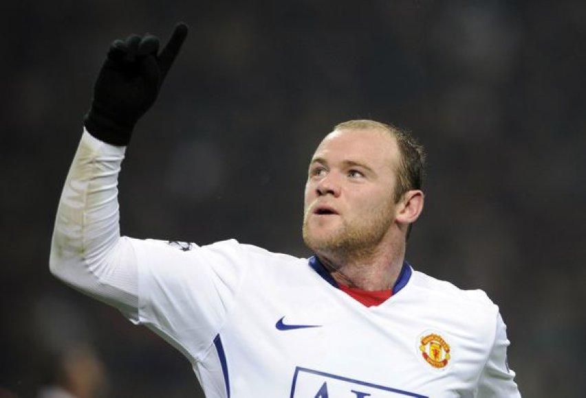 W.Rooney nusifilmavo vaizdo klipe