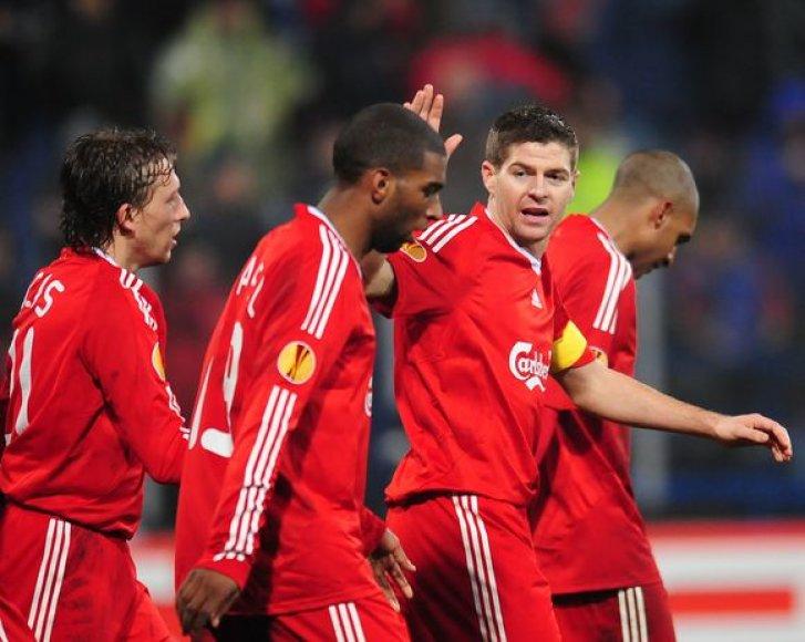 """""""Liverpool"""" aštuntfinalyje susikaus su """"Lille"""" ekipa"""