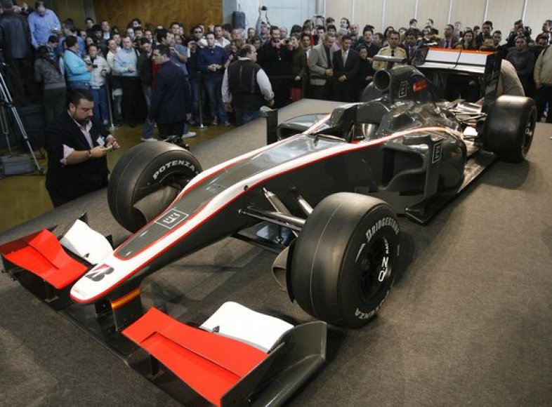 """Hispania Racing"" bolidas"