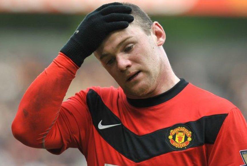W.Rooney šiuo metu demonstruoja puikią sportinę formą