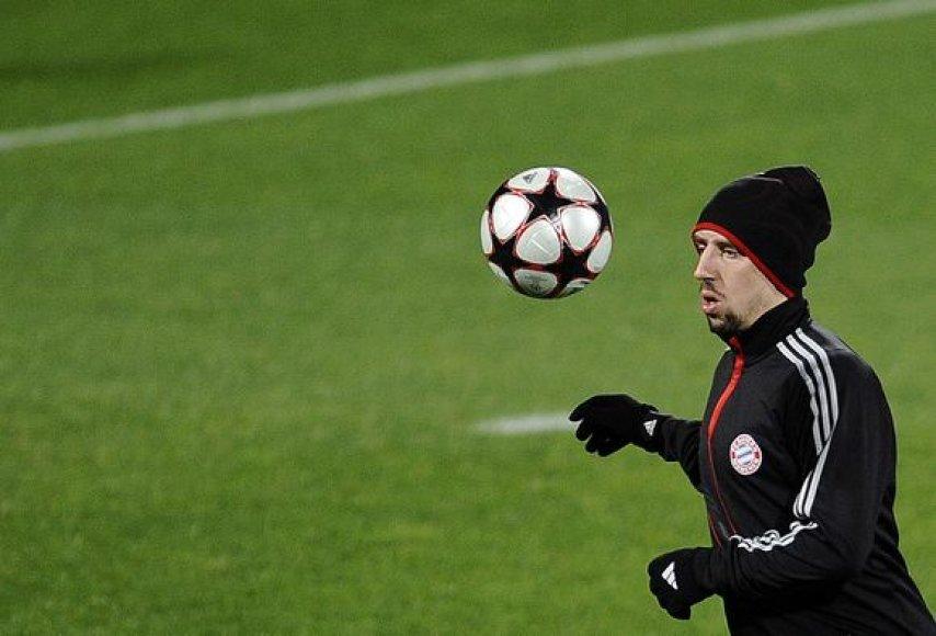 F.Ribery dar nežino, kur nori žaisti