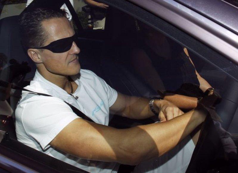 M.Schumacheris Melbrune iki šiol triumfavo keturis kartus