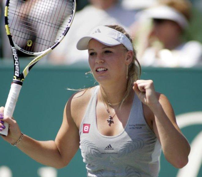 C.Wozniacki pateko į ketvirtfinalį