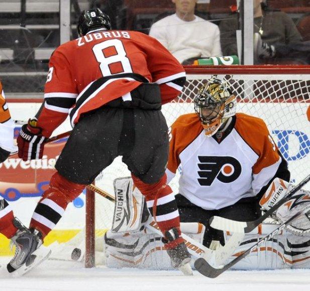 D.Zubaus sezonas NHL baigtas
