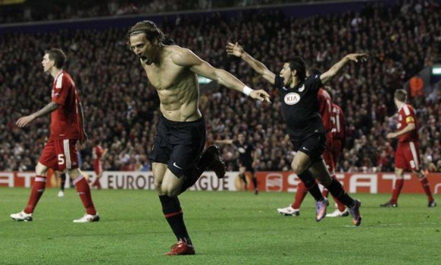 D.Forlano įvartis išvedė Madrido komandą į finalą