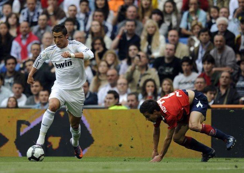 C.Ronaldo įmušė du įvarčius