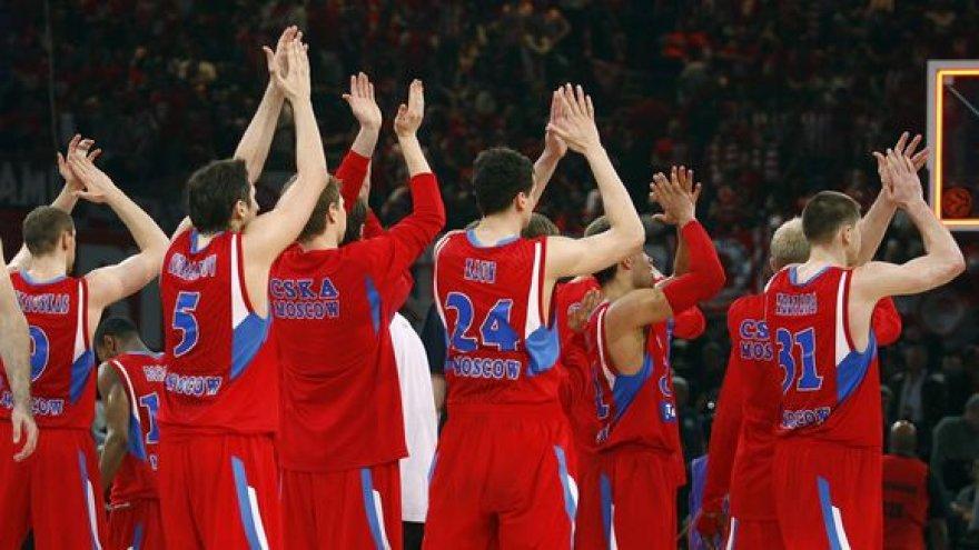 CSKA iškovojo pirmąją pergalę Eurolygoje