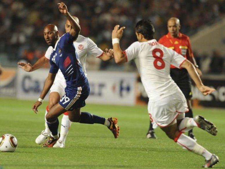 Prancūzai rezultatą išlygino tik antrame kėlinyje