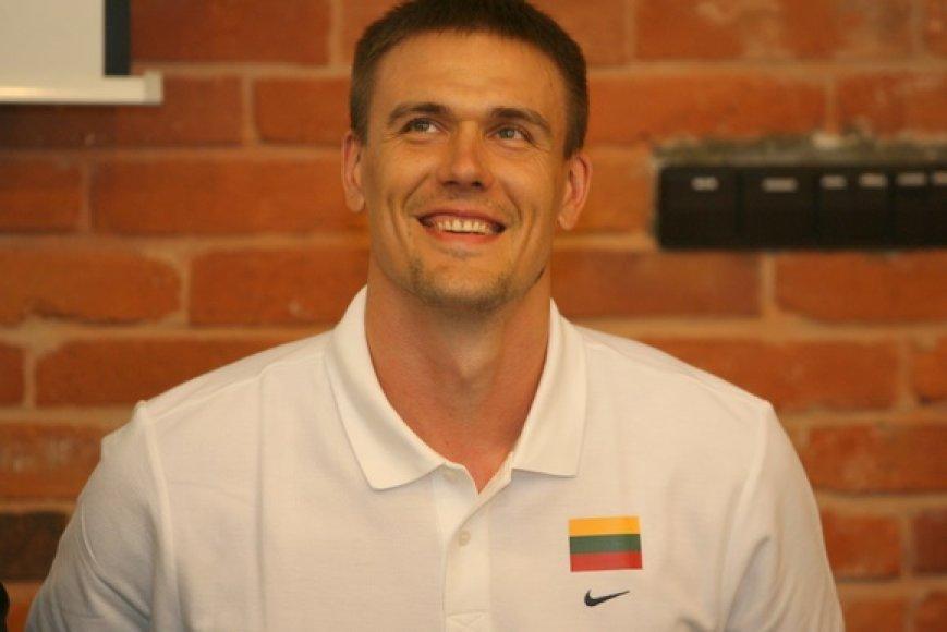 """R.Javtokas """"Chimki"""" komandoje žaidė vieną sezoną ir veikiausiai ten nebegrįš."""