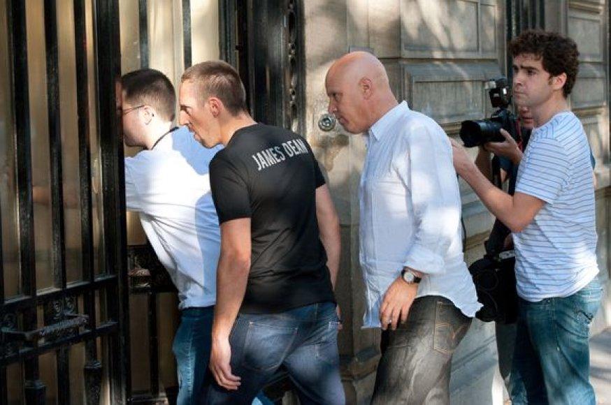 F.Ribery turi nemalonumų su teisėsauga