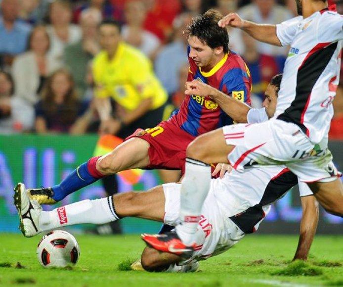 Katalonų įvarčio autorius - L.Messi