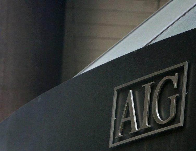 Dėl koncerno AIG – naujas skandalas.