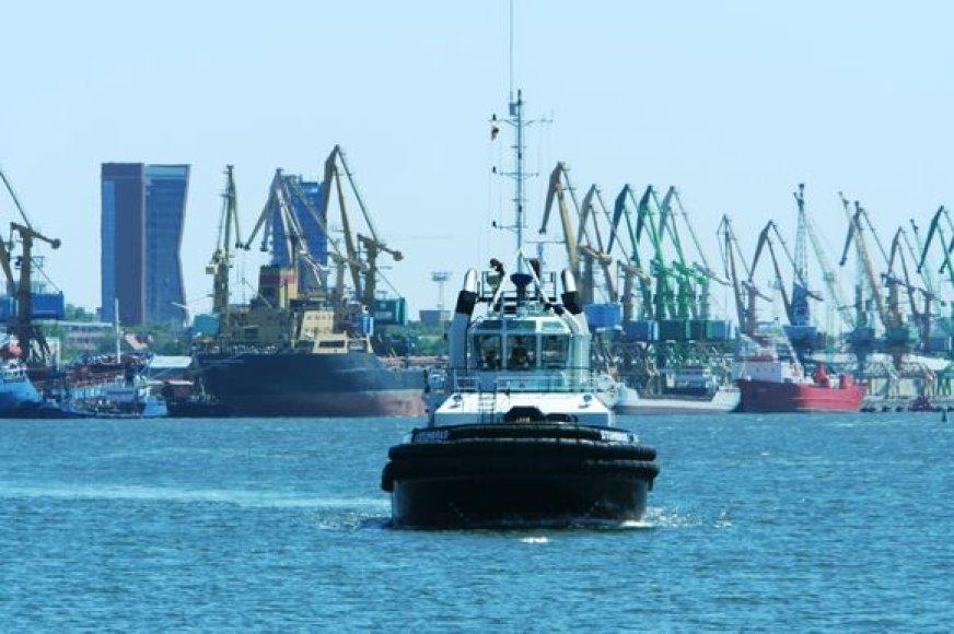 Sunkmečiu uoste perkraunama gerokai mažiau krovinių.