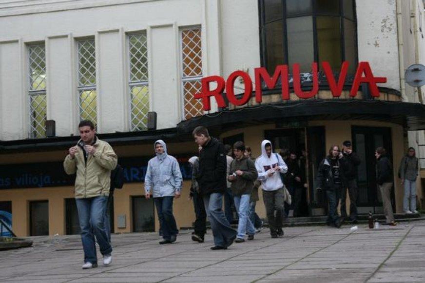 """Tolimesnis legendinio kino teatro """"Romuva"""" likimas spręsis vasario 5 dieną vyksiančiame tarybos posėdyje."""