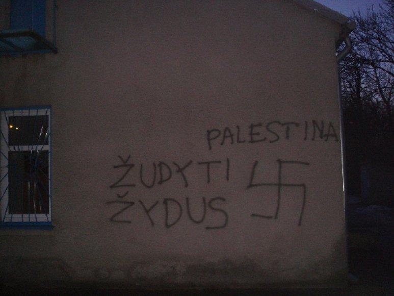 Savaitgalį Lietuvoje su visuotiniu protestu pasipylė ir išpuoliai prieš žydus.