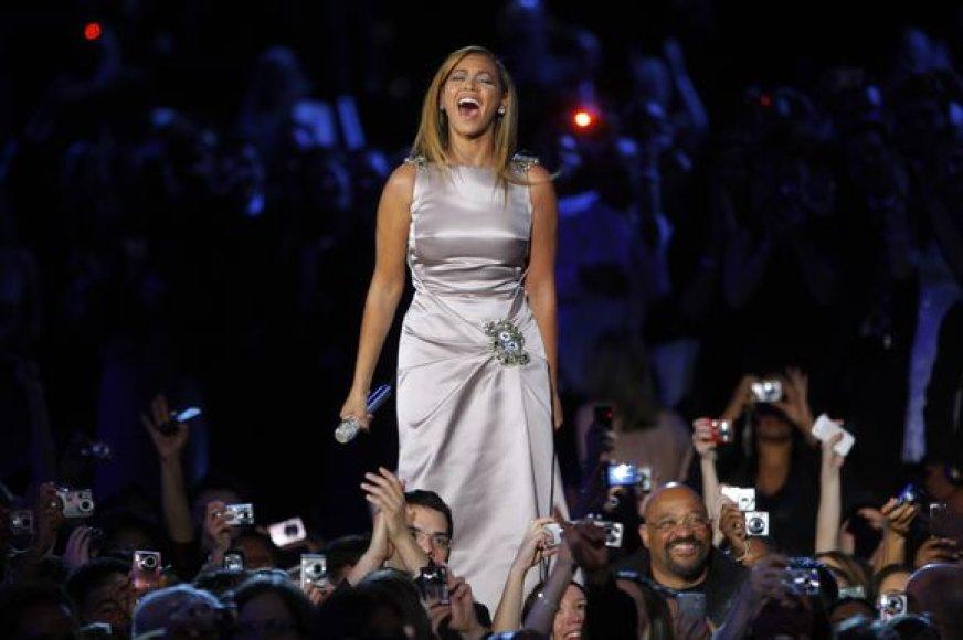 Beyonce per Obamos inauguracija