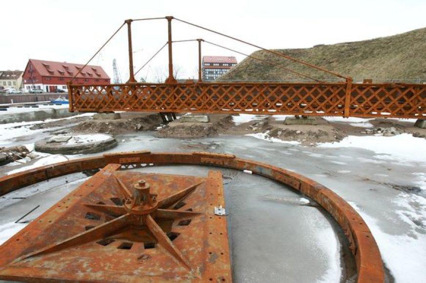 Pasukamasis tiltelis šiuo metu guli piliavietėje.