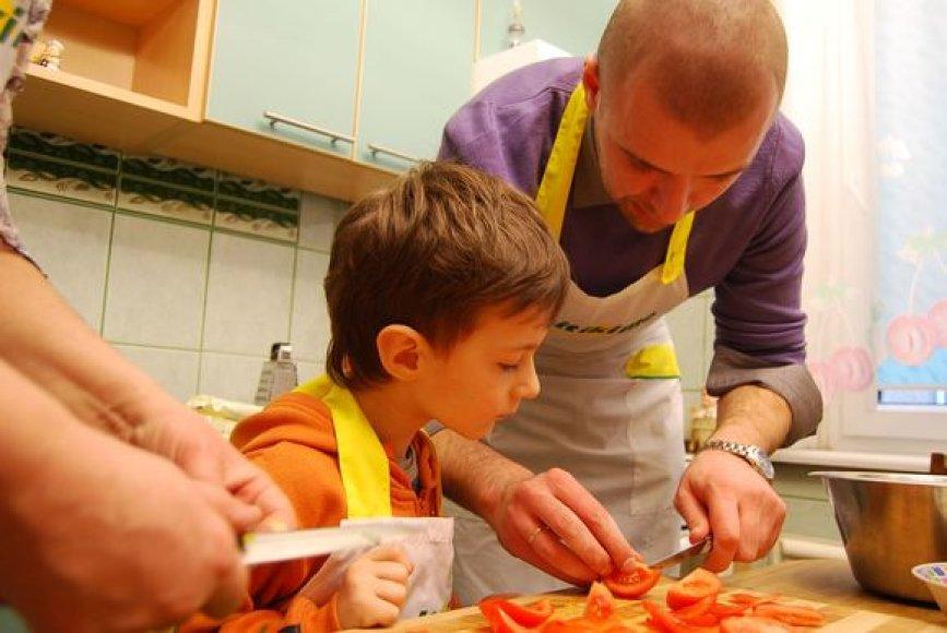 Linas gamina raviolli