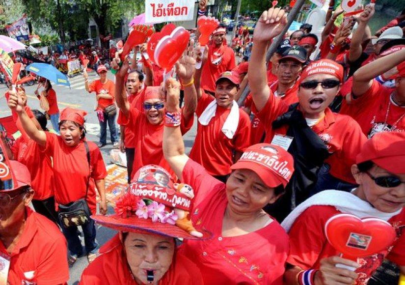 Protestai Bankoke