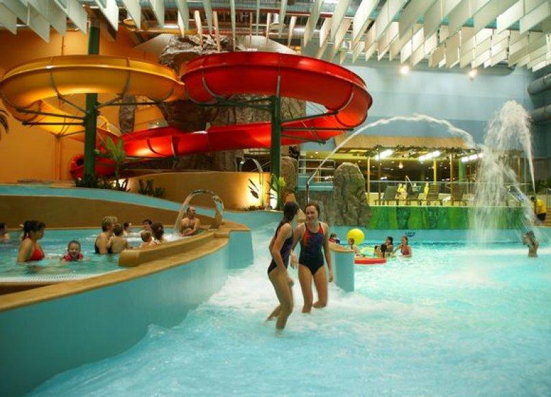 Vandens atrakcionų ir SPA kompleksas
