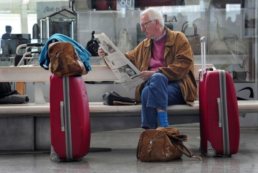 Keleiviai Bilbao oro uosto