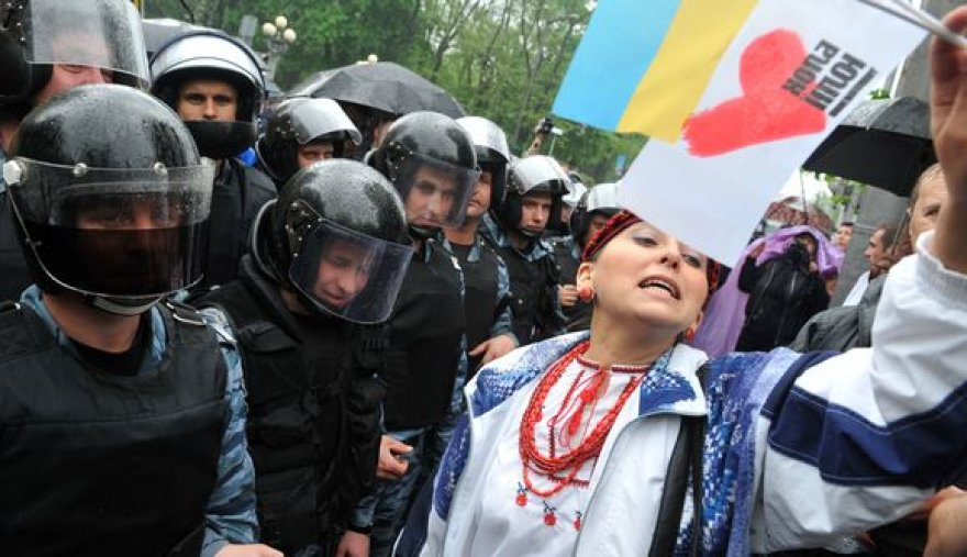 Protestas Ukrainoje