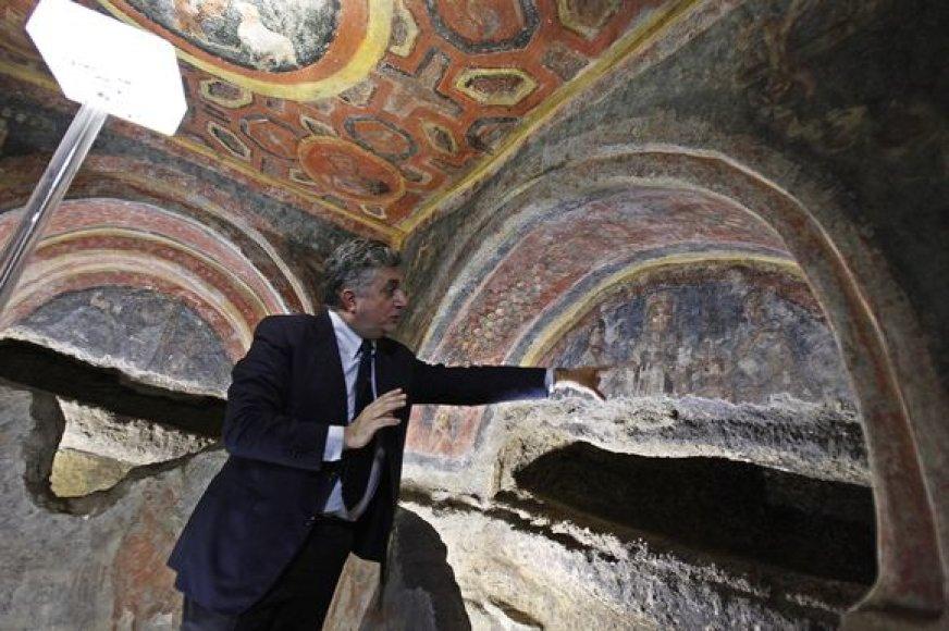 Romoje rasti vieni seniausių Kristaus apaštalų atvaizdų.