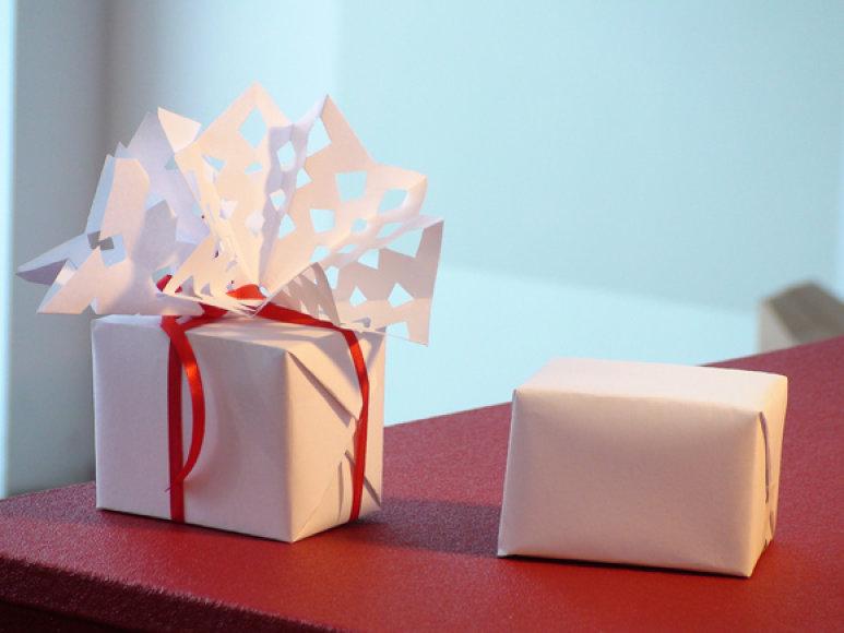 Supakuotos dovanėlės
