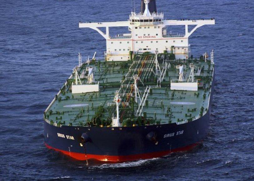 Piratų užgrobtas laivas