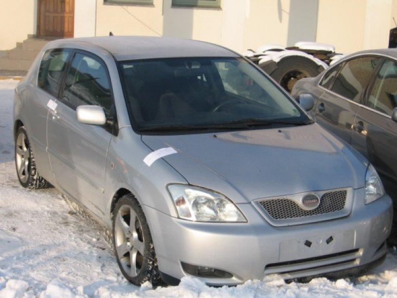 Dar vienas baltarusis, Lietuvoje nusipirkęs automobilį, turėjo namo grįžti be pirkinio.