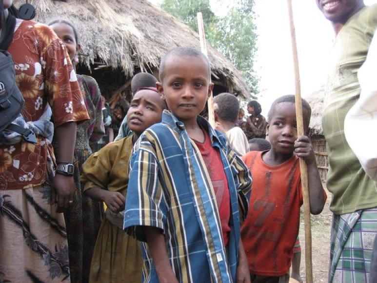 Etiopų vaikai