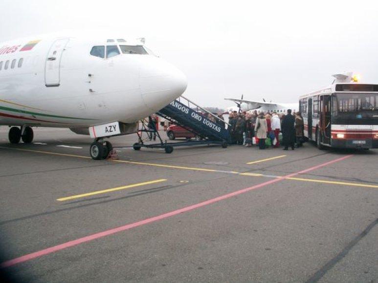 Nuo pavasario bei vasaros iš Palangos oro uosto bus galima nuskristi į Rygą, Maskvą, Kopenhagą, Oslą, Dubliną bei Londoną, be to, skrydžių bus daugiau.