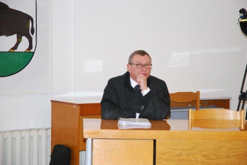 Kaltinamojo advokatas Valdemaras Bužinskas
