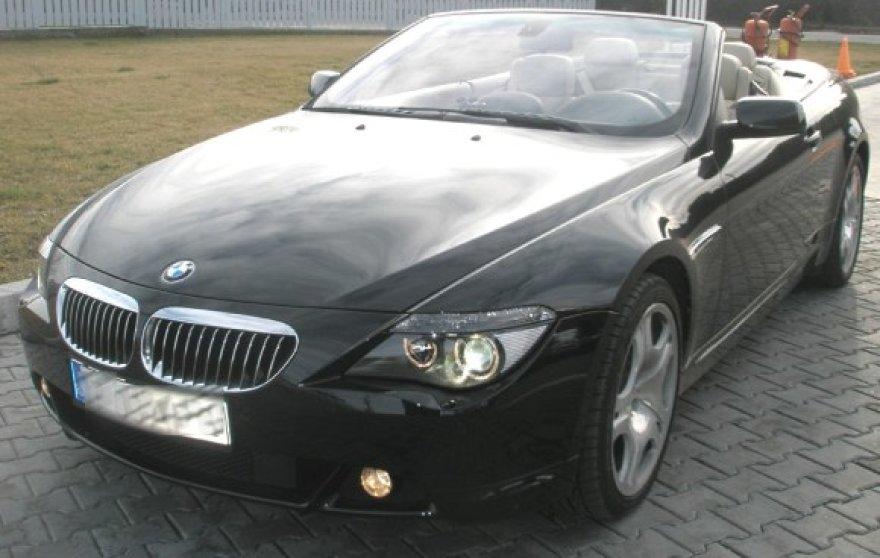 Ilgapirščiai nugvelbė panašų į šį BMW kupė automobilį.