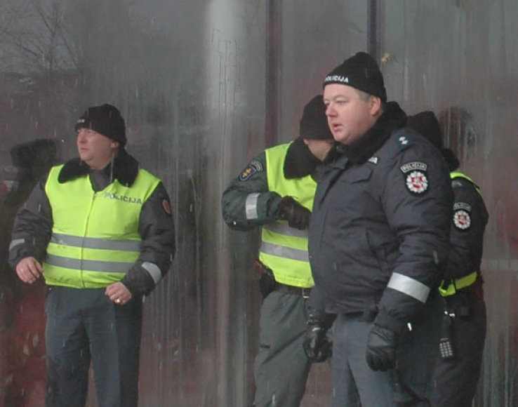 E.Paulaitis buvo vienas iš tų pareigūnų, kurie pernai sausio 16-ąją gynė Seimą nuo riaušininkų.
