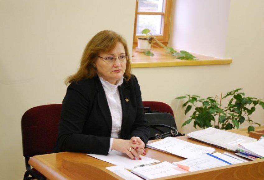 Pareigose pažeminta buvusi Kauno miesto apylinkės prokuratūros vyriausiojo prokuroro pavaduotoja Rita Čivinskaitė.