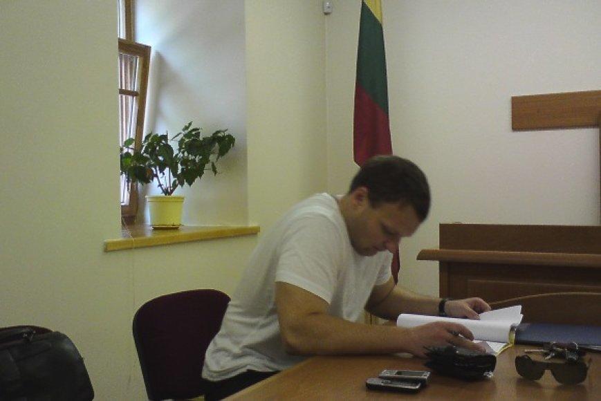 Byla teisme: vilnietis A.Dambrauskas prieš VAD.