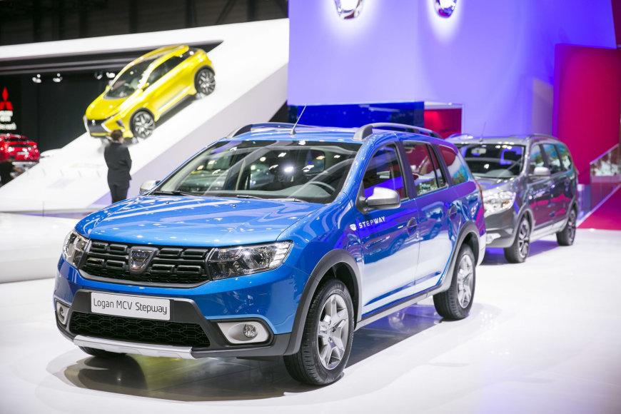 """Irmanto Gelūno / 15min nuotr./""""Dacia Logan MCV Outdoor"""""""