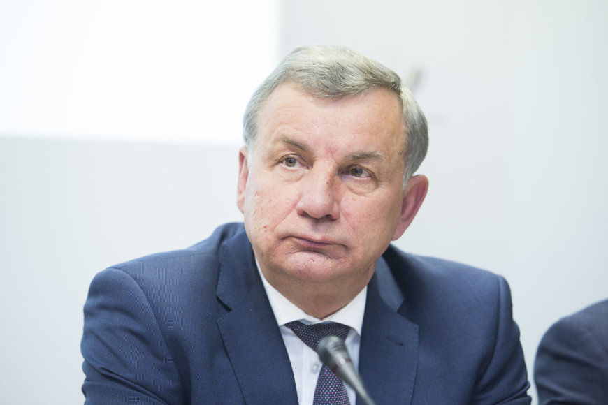 Irmanto Gelūno / 15min nuotr./Susisiekimo ministras Rimantas Sinkevičius