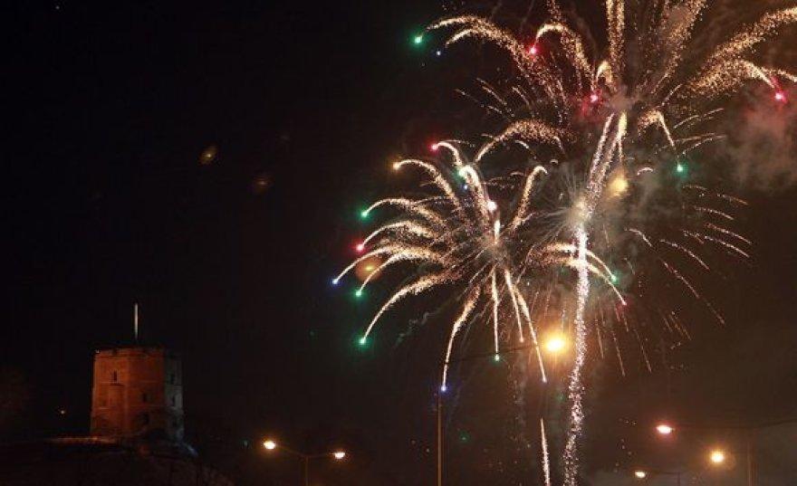 Ketvirtadienį sostinėje įvyko ugnies ir fejerverkų šventė.