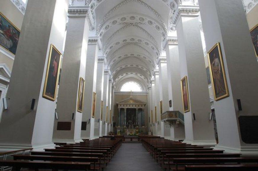 Katedros požemiai atidaryti lankytojams
