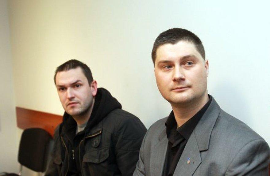 Liudvikas Vasiliauskas ir Vytenis Šlenys