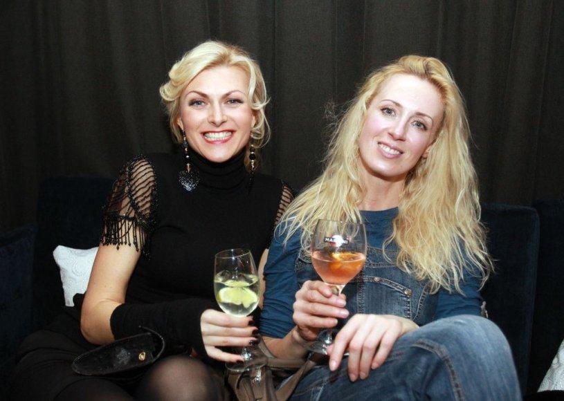 Eglė Jackaitė ir Aurelija Tamulytė