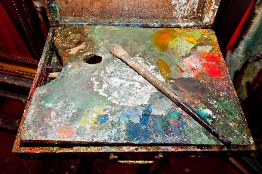 Dailininko Antano Gudaičio dirbtuvės